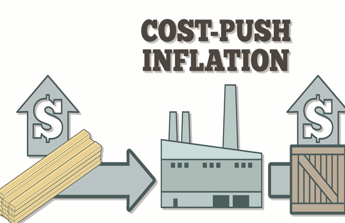 cost push inflation Cost-push is one of the two causes of inflation the other is demand-pull inflation, which includes expansion of the money supply cost-push inflation occurs when demand is inelastic that means there is a high demand for the.